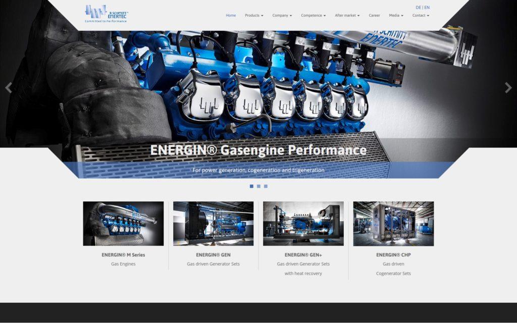R Schmitt Enertec Website Relaunch